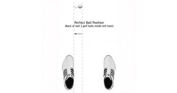 Perfect Golf Ball Position