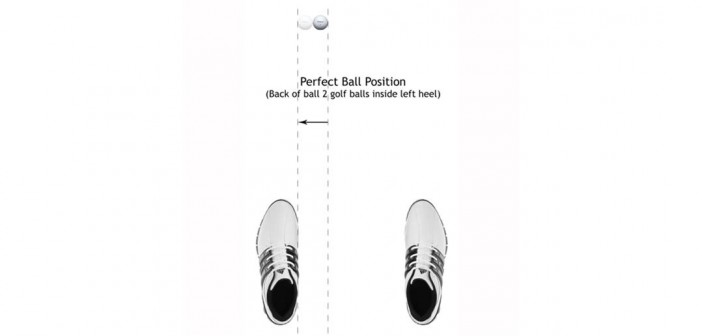 Perfect Golf Ball Position