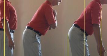 Golf Swing Setup Drill - Perfect Golf Spine Angle
