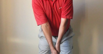 Golf Swing Setup Drill - Spine Tilt at Address