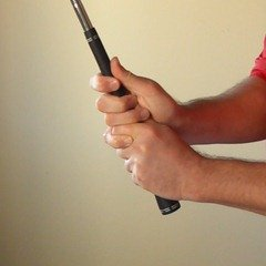 Figure 9. The completed golf grip