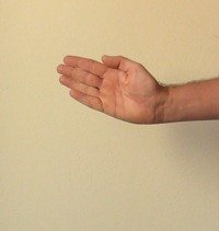 Figure 6. Abduction (Radial Deviation) - Cocking your wrist