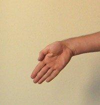 Figure 5. Adduction (Ulna Deviation) - Down-cocking your wrist