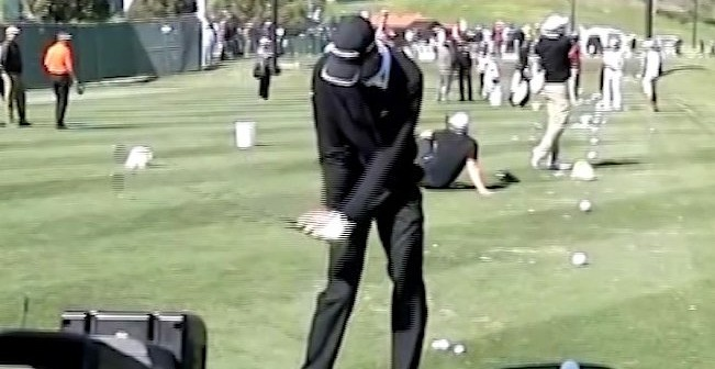 Sean OHair Golf Swing Video 2013 Face On View Slow Motion Iron
