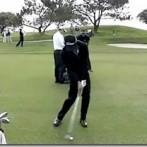 Adam Scott Golf Swing Video – 2013, Face On View, 300fps Slow Motion, Iron