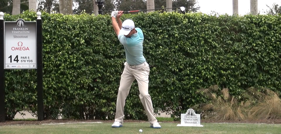 Large Backswing in golf