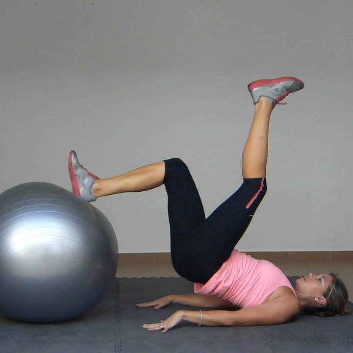 Stability Ball Hamstring Curl T Nation: Leg Curl On An Exercise Ball (1 Leg)