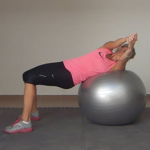 Stability Ball Russian Twist: Russian Twist On An Exercise Ball