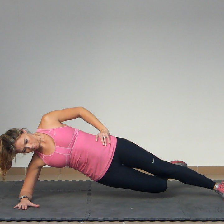 Side Plank with Hip Adduction Exercise | Golf Loopy - Play Your Golf