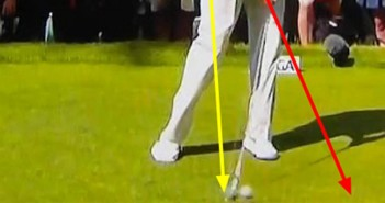 Golf Downswing - Impact Illusion