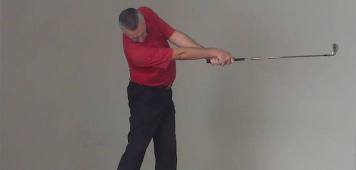 Golf Downswing Drill - Full Body Release and Extension Through Impact
