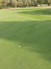 Setup for the Intermediate Putt Touch game