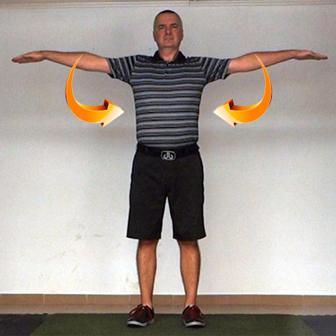 Shoulder Adduction - Golf Anatomy and Kinesiology