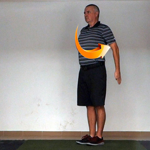 Shoulder Extension - Golf Anatomy and Kinesiology