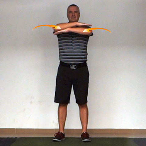 Shoulder Transverse Flexion - Golf Anatomy and Kinesiology