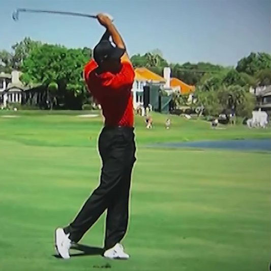 how to work on the follow through in golf swing
