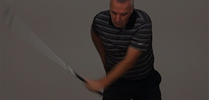 Golf Downswing Left (Control) Arm