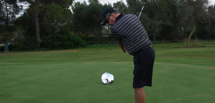 Golf Pitching Drill 105b. Technique: Mirror Drill