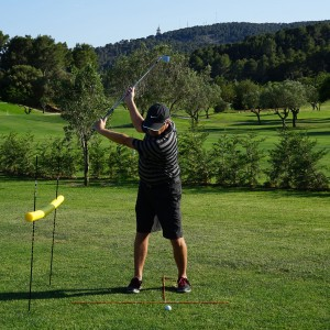 Golf Swing Lag and Release Timing Drill II: Split Grip
