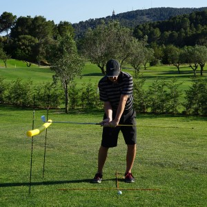 Golf Swing Lag and Release Timing Drill III: Downswing