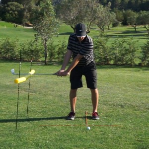 Golf Swing Lag and Release Timing Drill 1: Setup