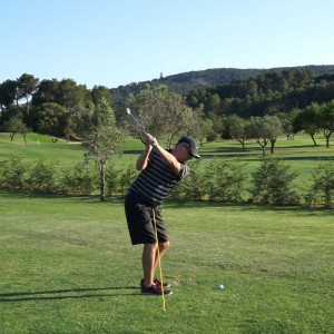 Stop Early Extension: Top of Backswing