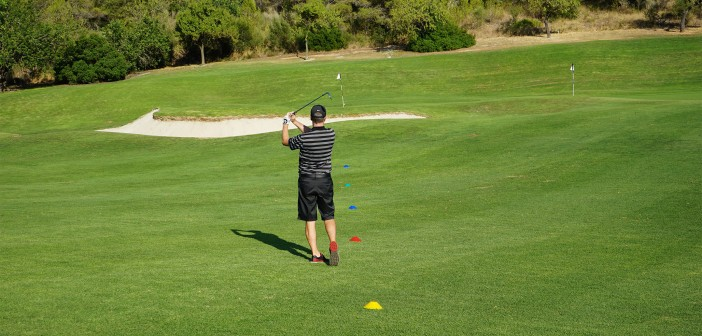 Golf Wedge Play Game: Proximity
