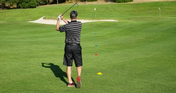 Golf Wedge Play Game: Knockout
