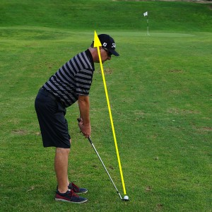 Distance Wedge Lob: Alignment