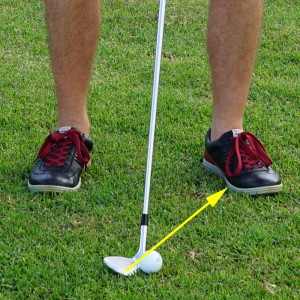 Distance Wedge Lob: Open Club Face