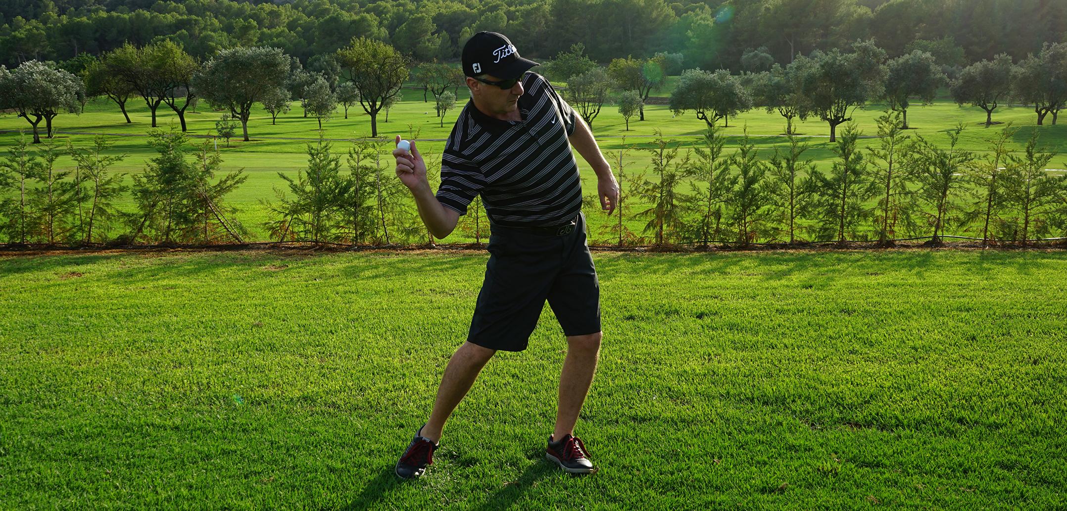 Golf Swing Drill 508c  Downswing: The Speed Arm Throw   Golf